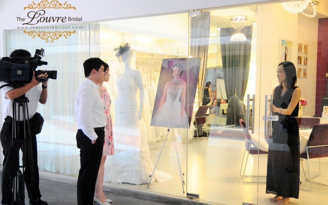 Double Happiness Wedding on Valentine's Day 2014 (Featured on Channel NewsAsia)