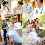 Rejoicing with Kenny & Melissa // Parisian Love Theme Wedding
