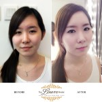 First Korean Bridal Makeup by Koreans in Singapore