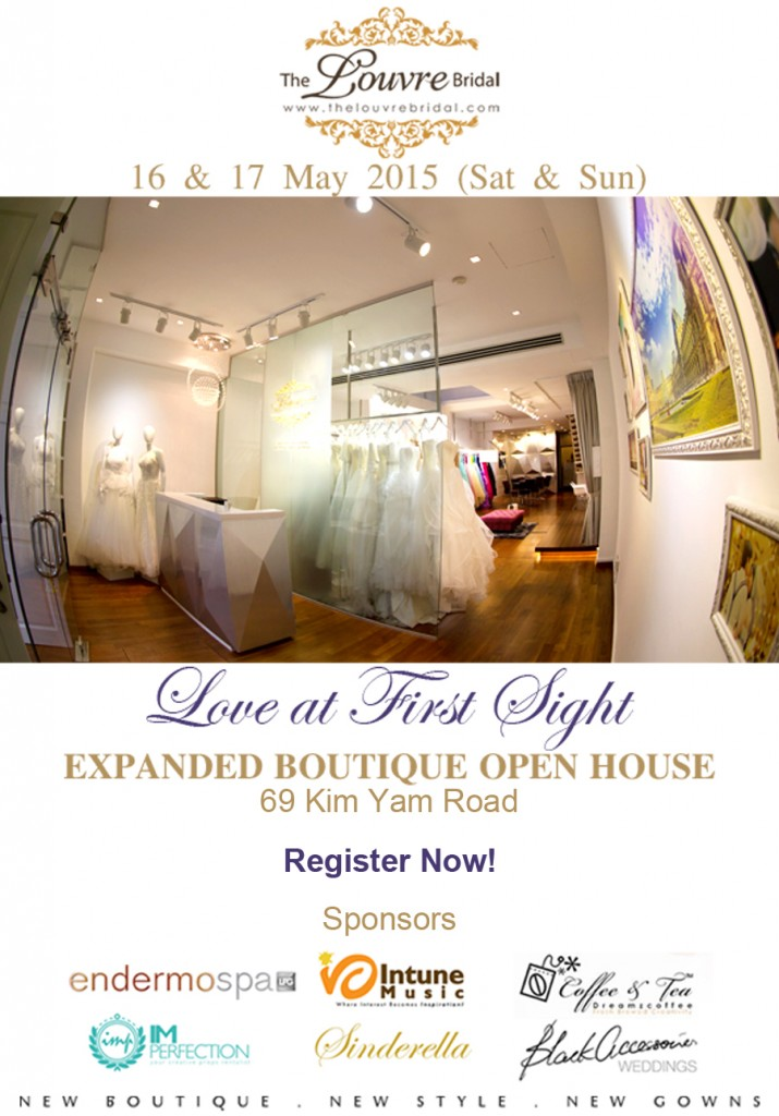 """Love At First Sight"" – The Louvre Bridal Expanded Boutique Open House"