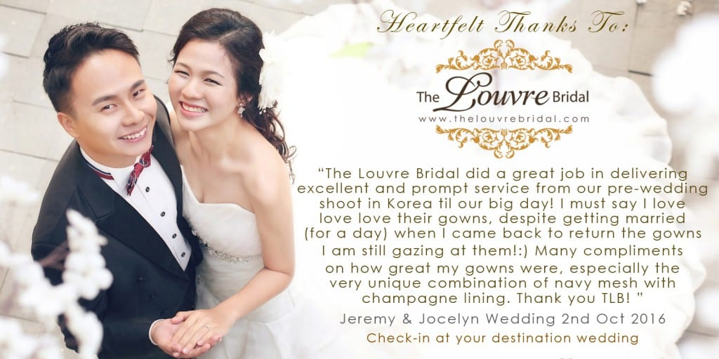 the louvre bridal review