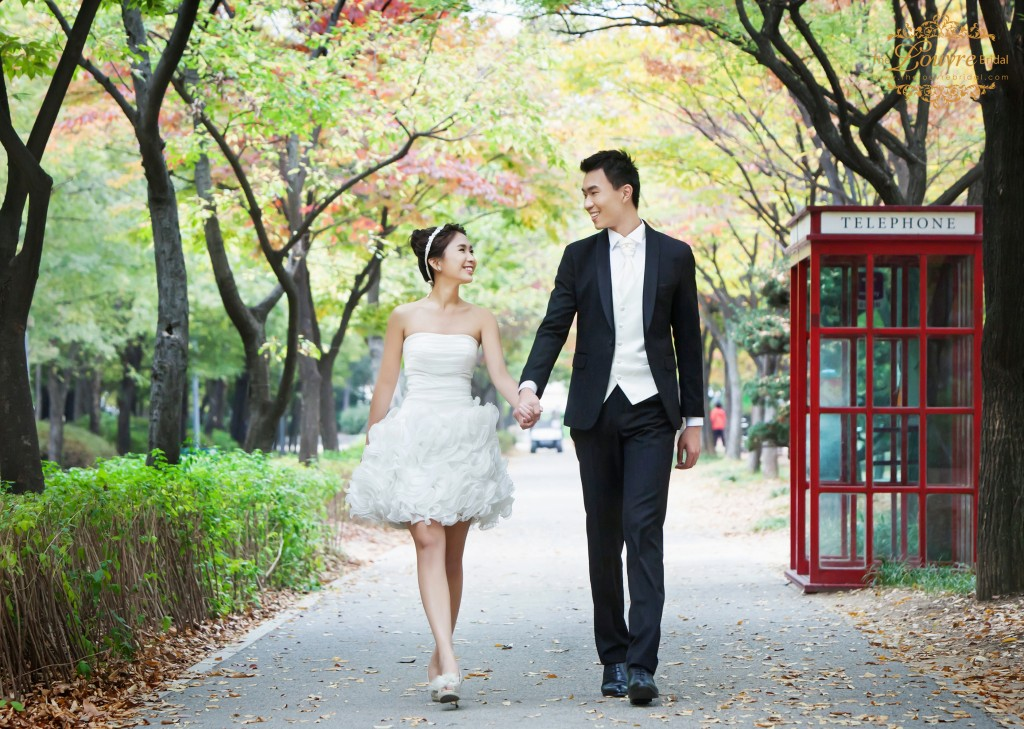 korea prewedding photo