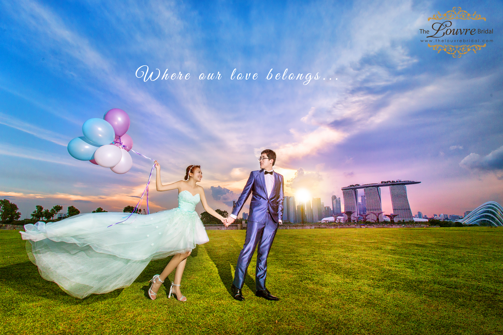 Pre Wedding Photoshoot Location Singapore Wedding Dress