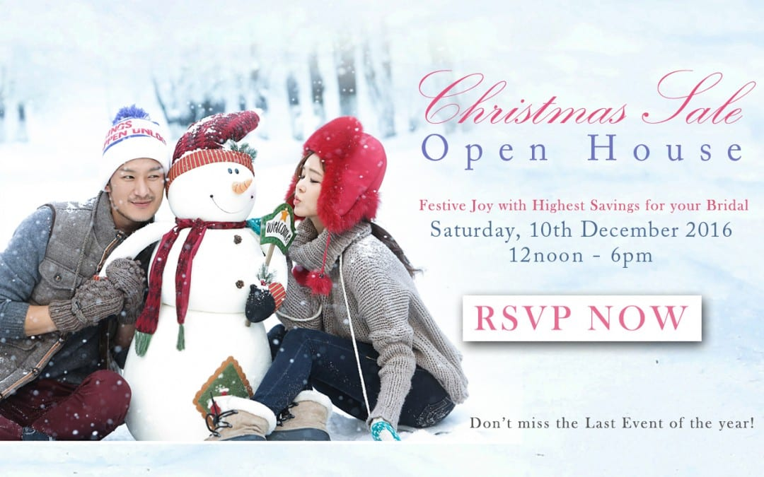 Christmas Sale – Open House
