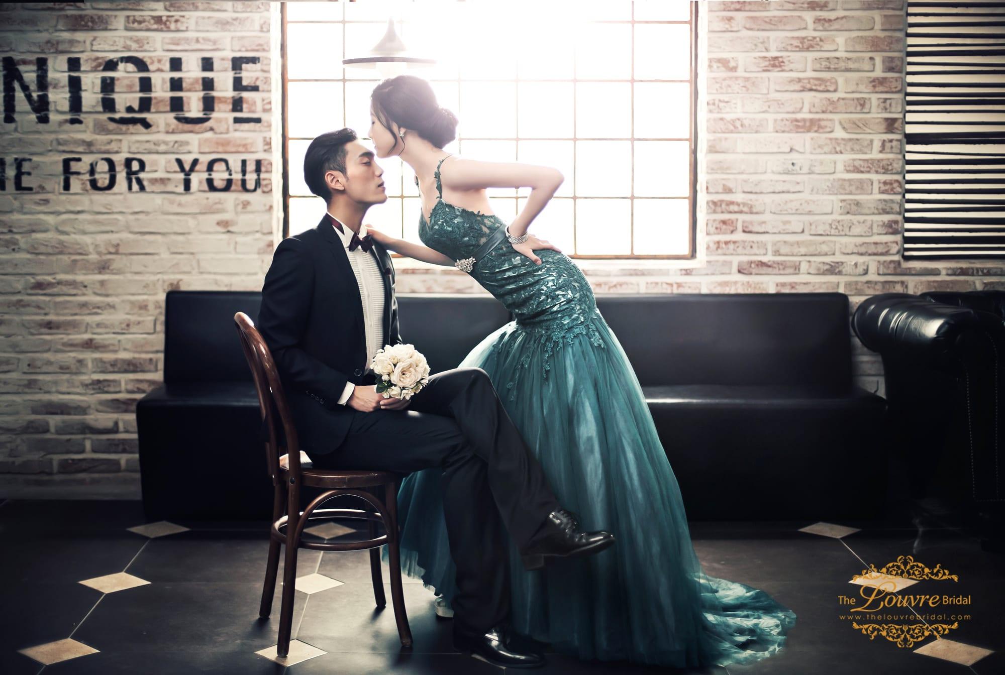 Latest Korean Wedding Dress Trends