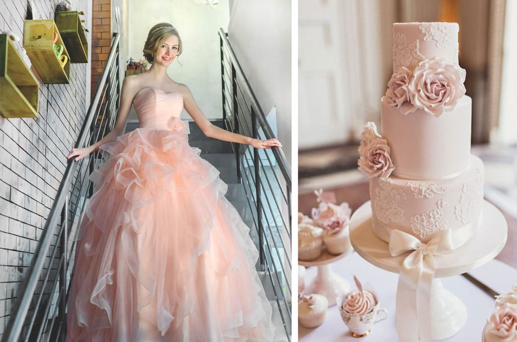 3 Most Popular Wedding Colour Palettes for the Trendy Brides