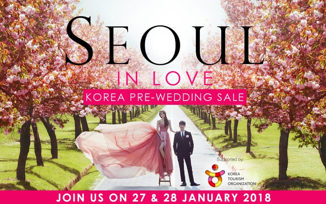 """Seoul in Love"" Korea Pre-wedding Sale"