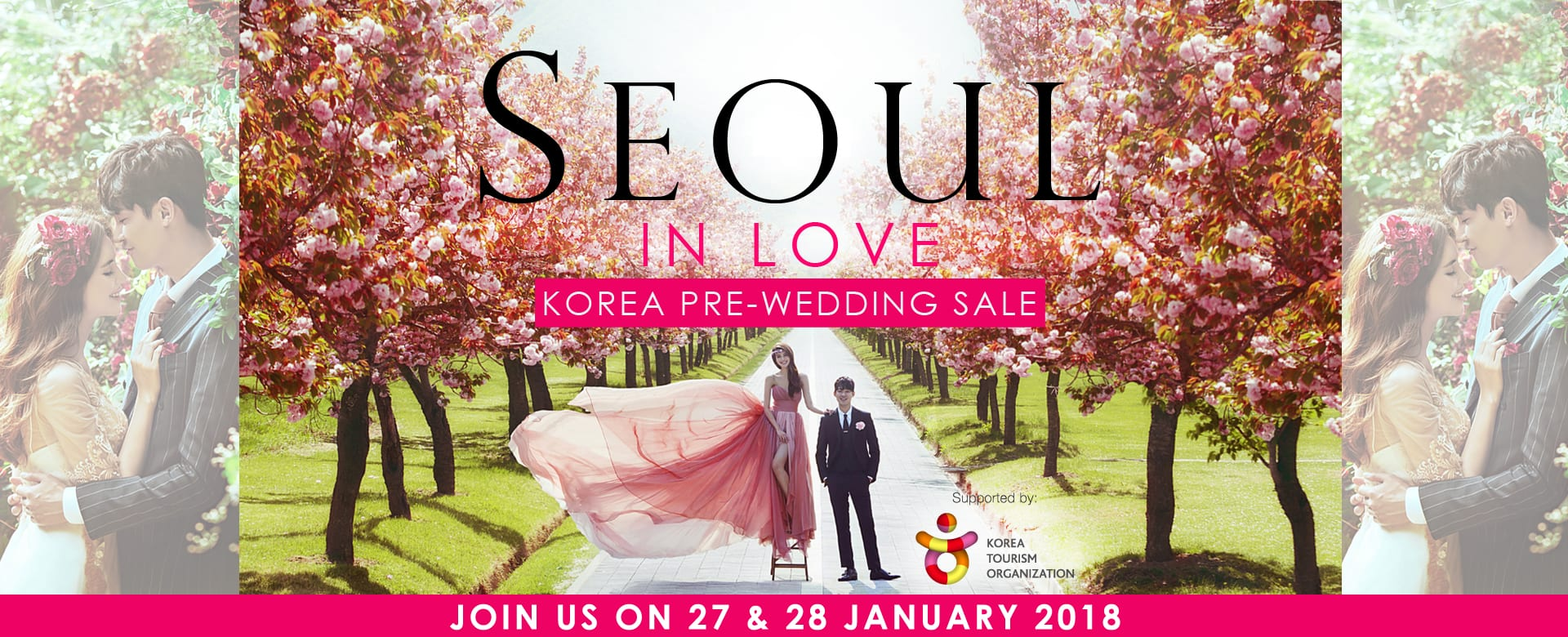 """Seoul in Love"" Korea Pre-wedding Sale"