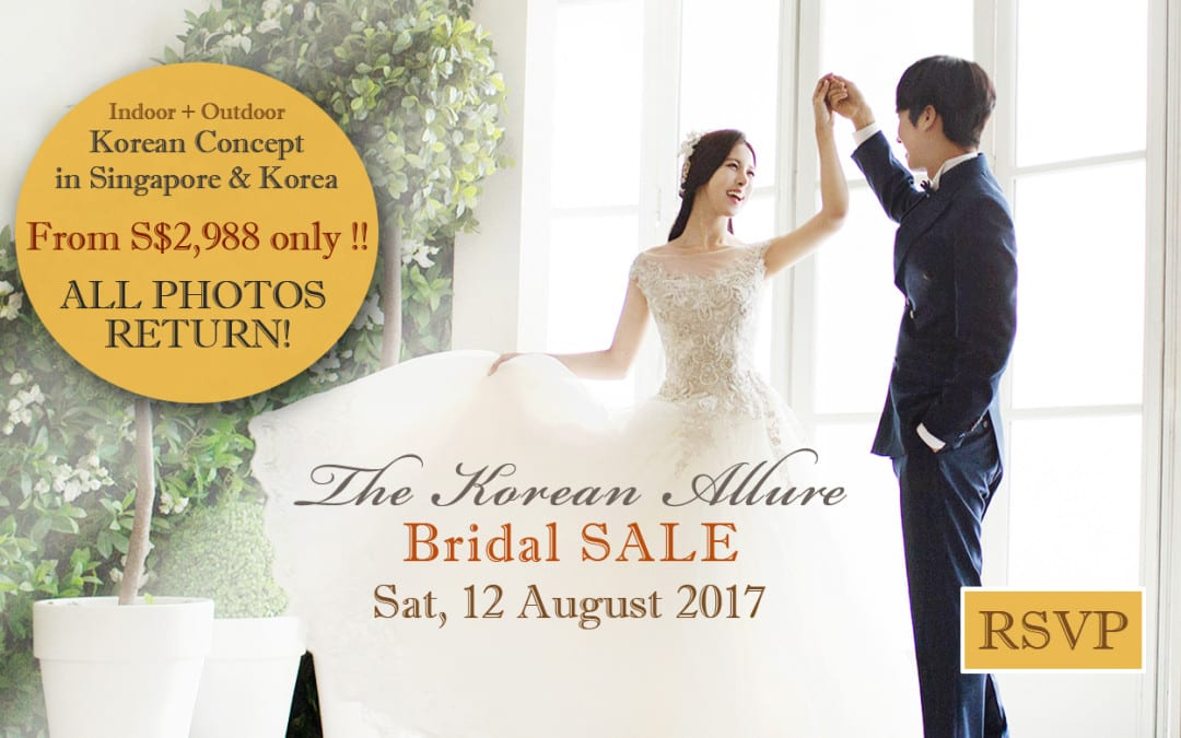 BRIDAL SALE – The Korean Allure