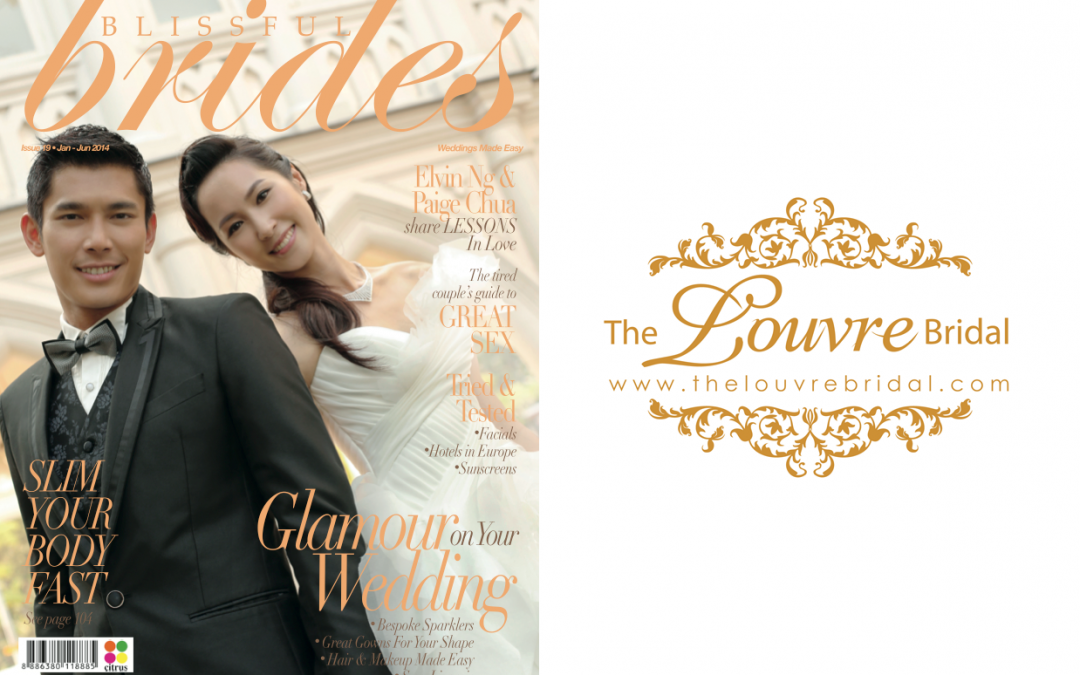 Go Korea! – Spotted in Blissful Brides Jan 2014 Issue