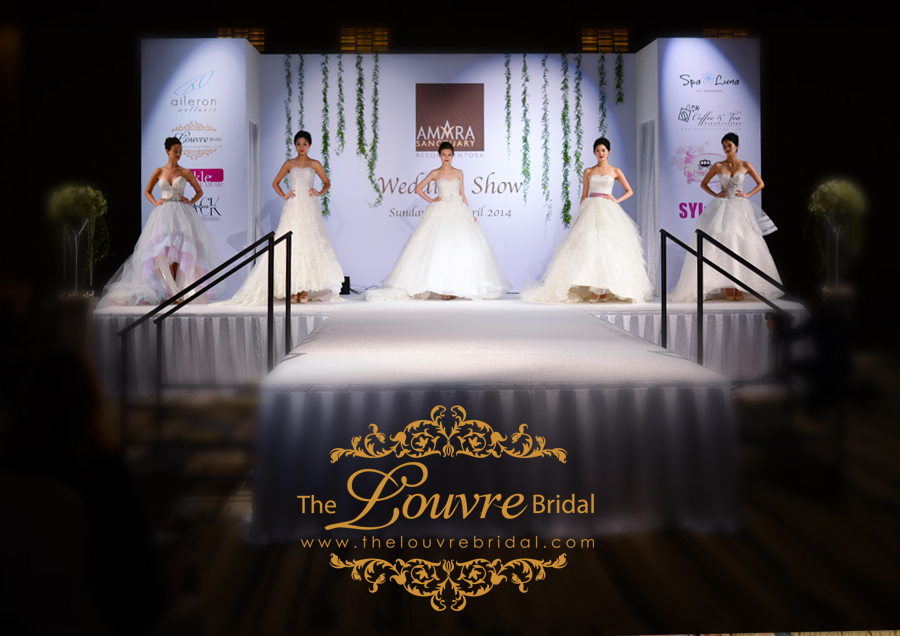 Fantaisie 2014 Bridal Couture  @ Amara Sanctuary Resort Sentosa