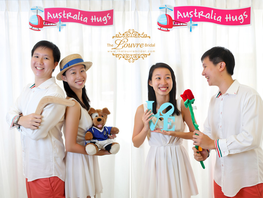 """Australia Hugs"" – Perth Overseas Pre-wedding Photoshoot"