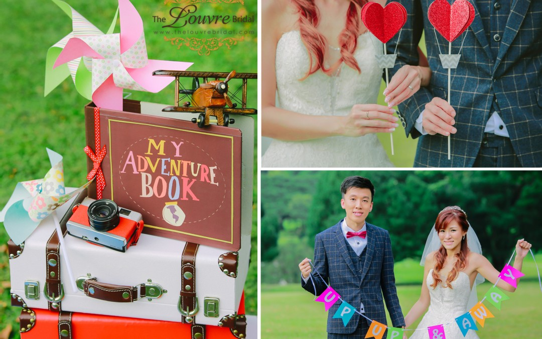 A Hot Air Balloon Wedding Photoshoot, Right Here in Singapore?
