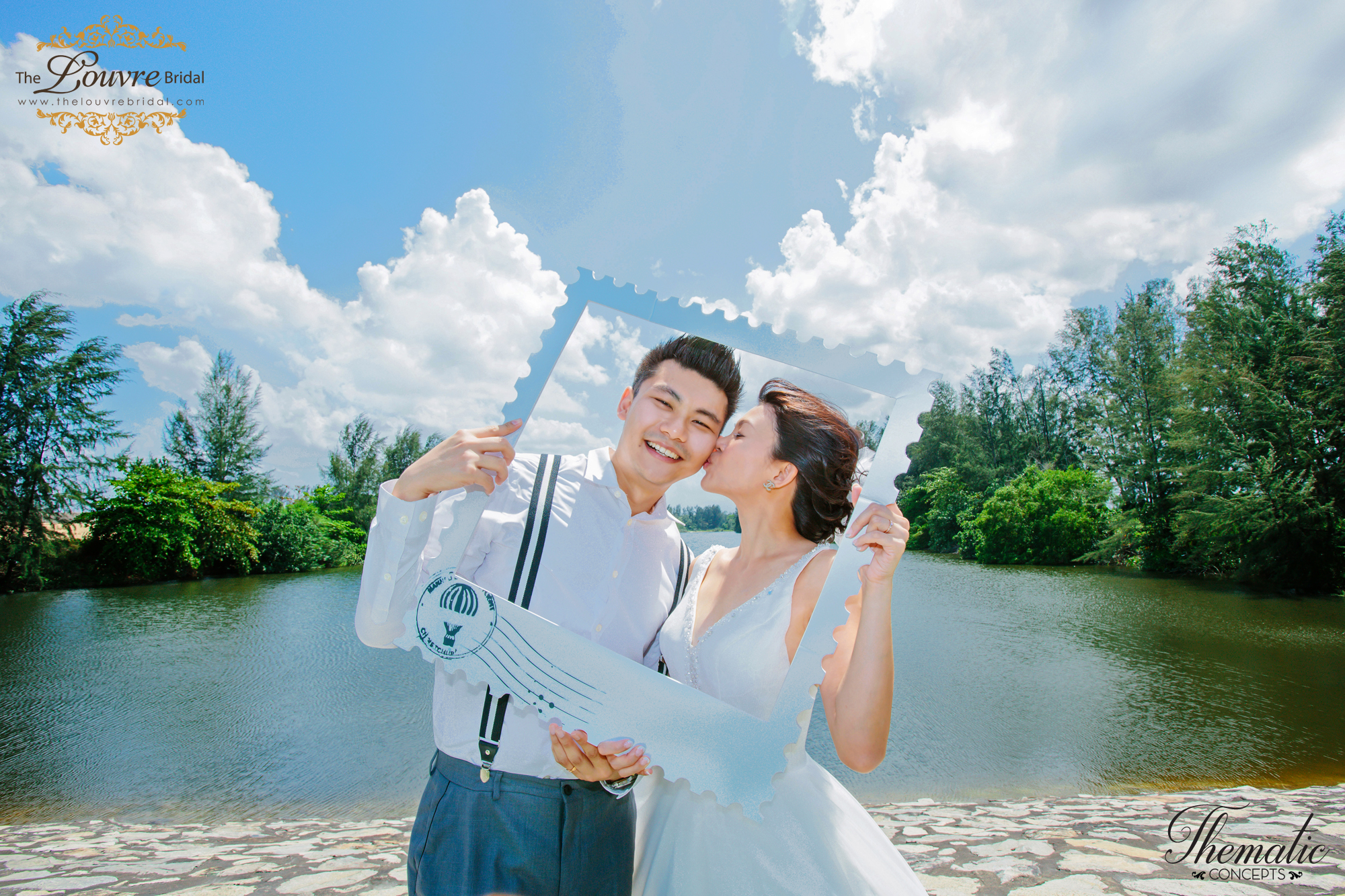 Styled Wedding Photoshoot Travel Theme for your Singapore