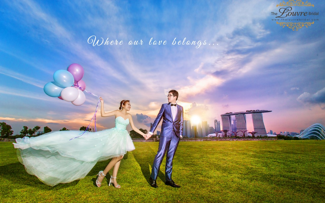 Can You Tell If These Pre-wedding Photoshoot Locations Are In Singapore?