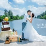 Styled Wedding Photoshoot-Travel Theme for your Singapore Pre-wedding Photoshoot Ideas