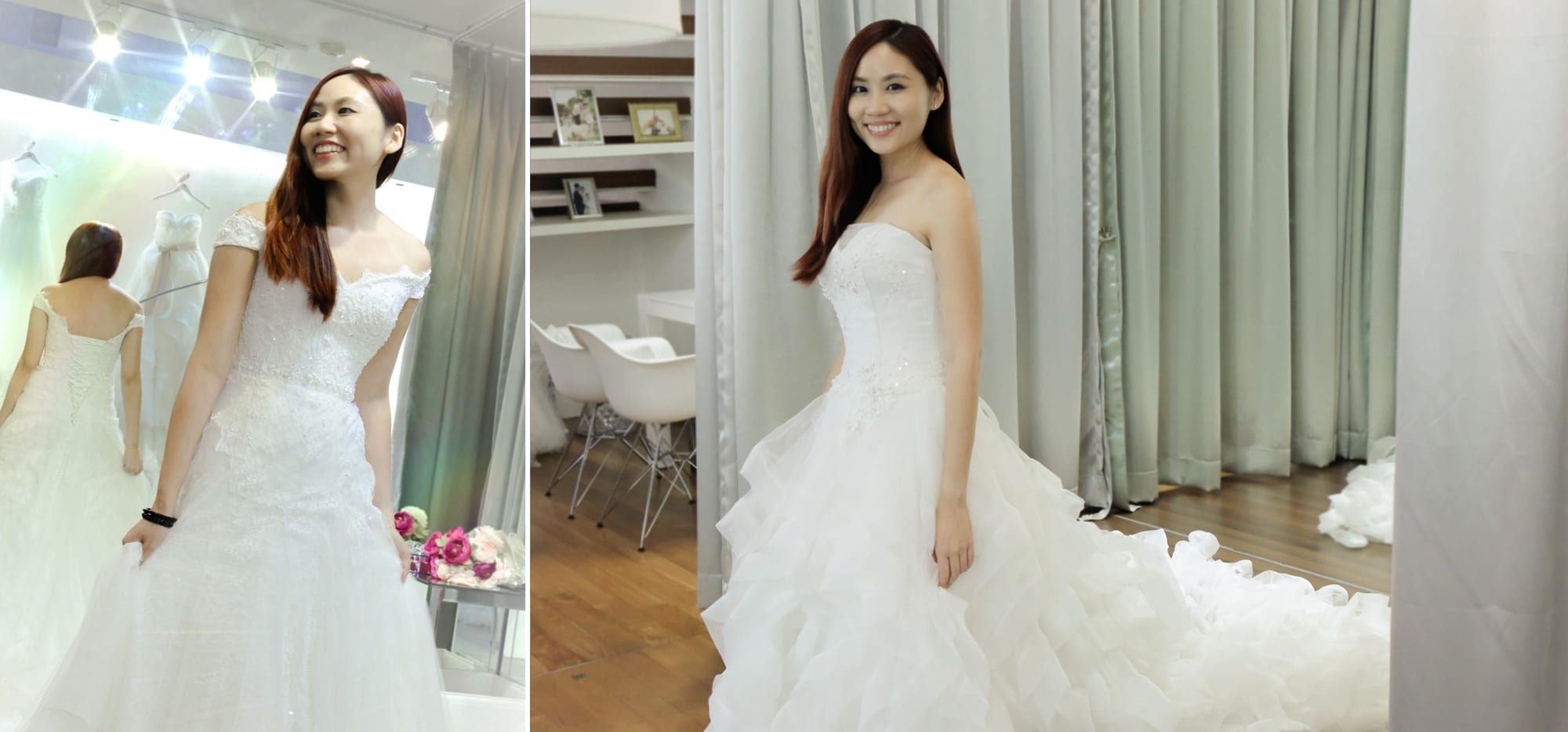 Celebrity Si Tong's Wedding Gown Fitting Experience