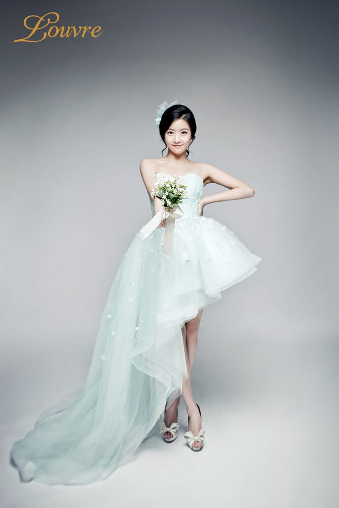 Louvre Bridal Couture Colored Dress