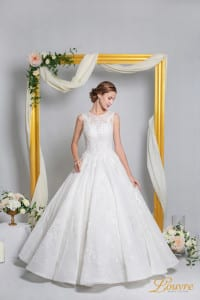 Louvre Bridal Couture Wedding Gown