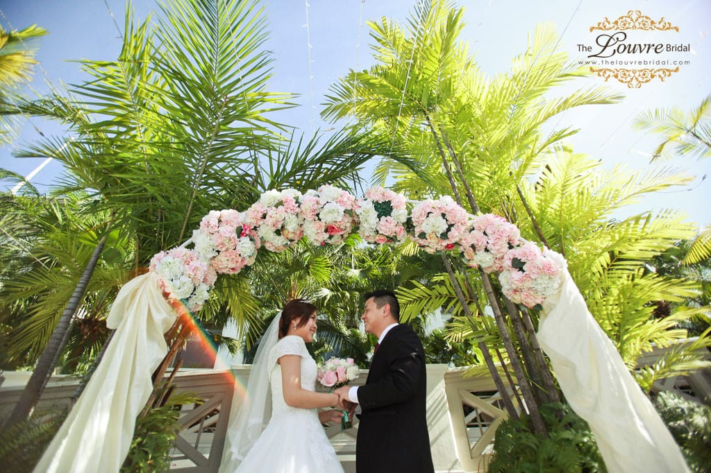 outdoor solemnization Singapore