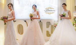 Korean bridal gown