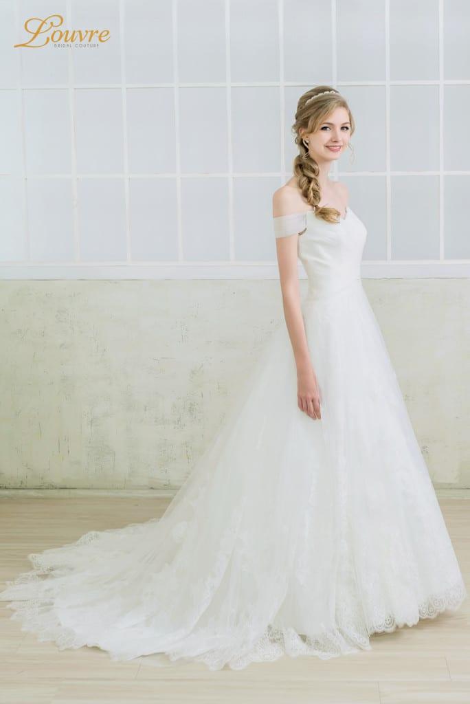 Singapore brides-wedding dress-a-line-louvrebridalcouture