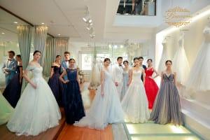 Korea wedding gowns
