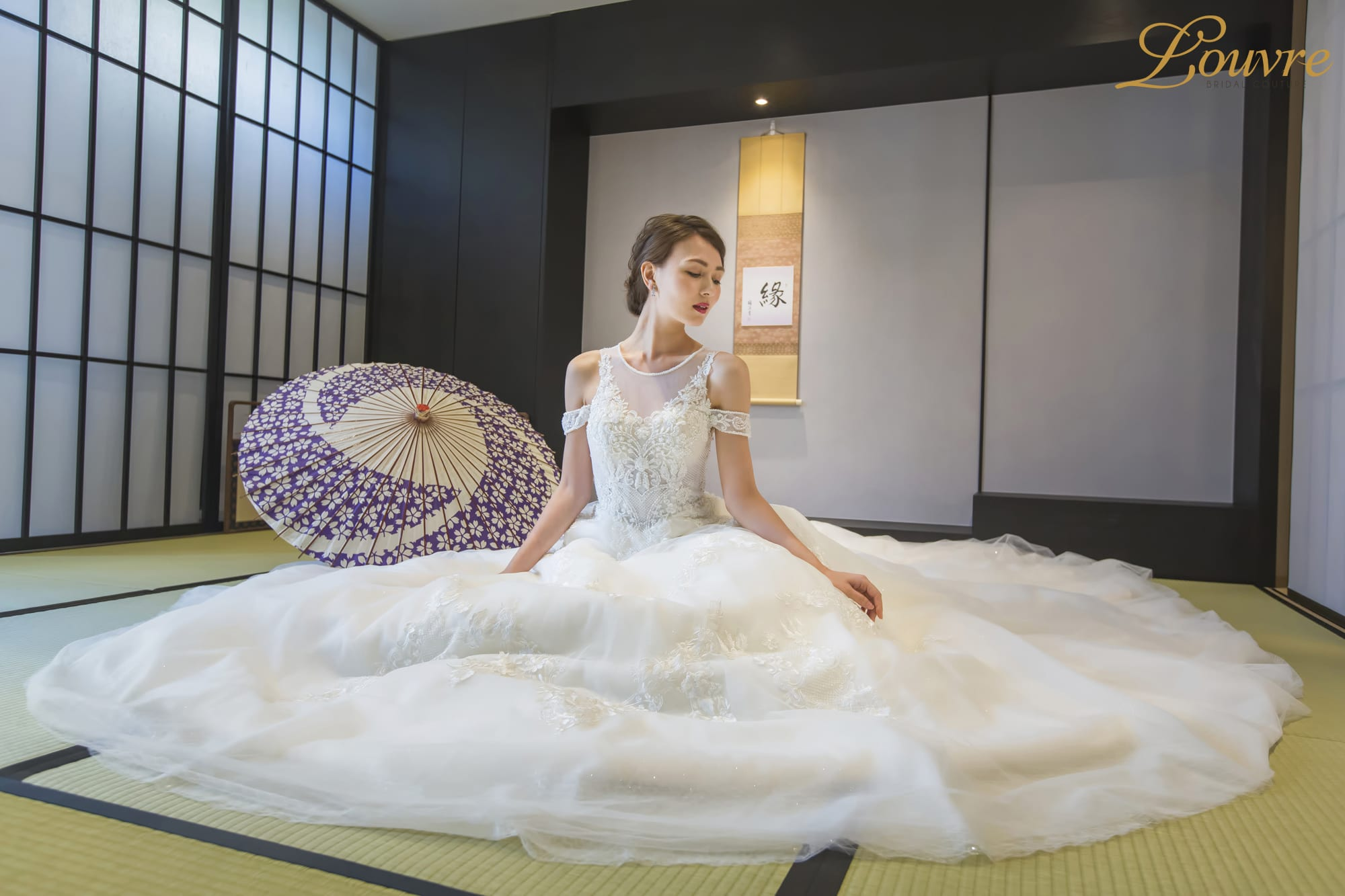 Stunning Modern Japanese Wedding Gowns In Singapore