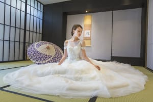 Japanese wedding gowns