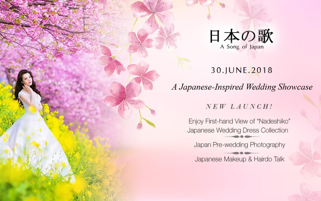 A Japanese-Inspired Wedding Showcase- A Song of Japan