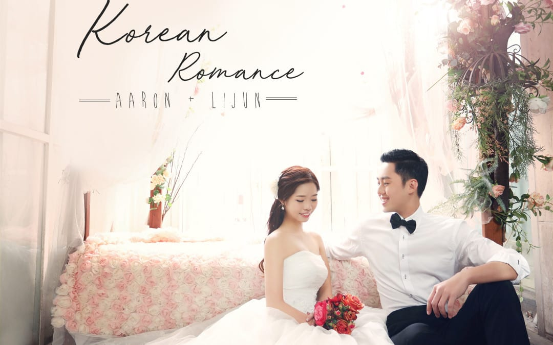 Korean-themed wedding – Real Weddings of Aaron & Li Jun