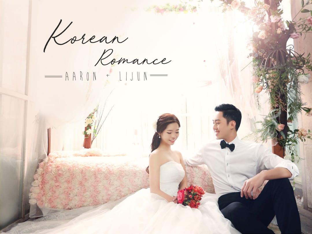 Korean-themed wedding – Real Weddings of Aaron & Li Jun