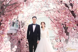 Korean-themed wedding