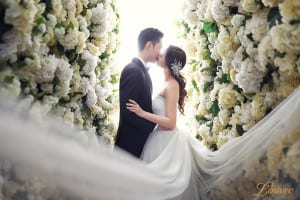 Korean-themed wedding