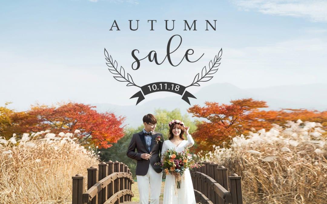 Autumn Bridal Sale