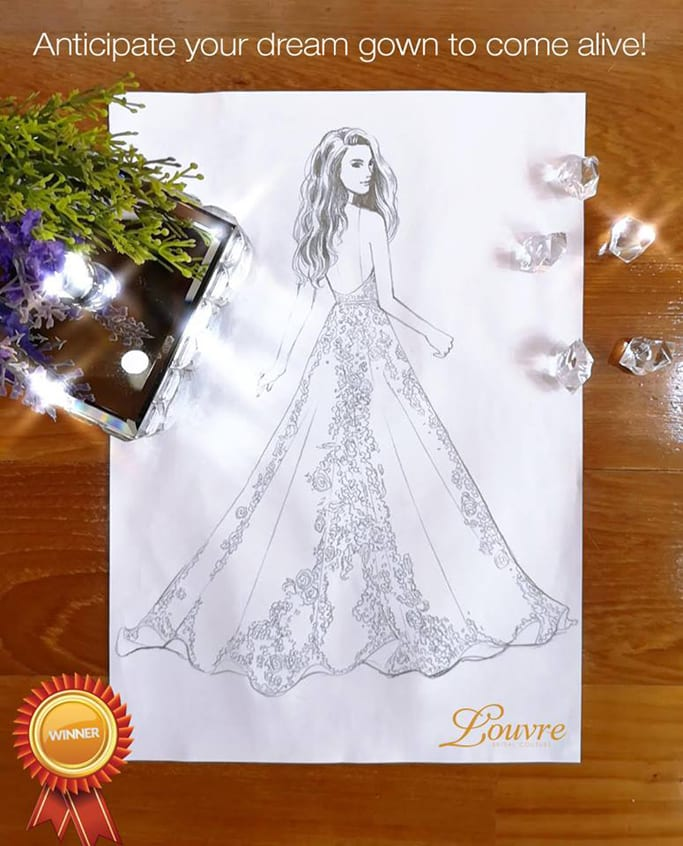 The Louvre Bridal Bespoke Gown