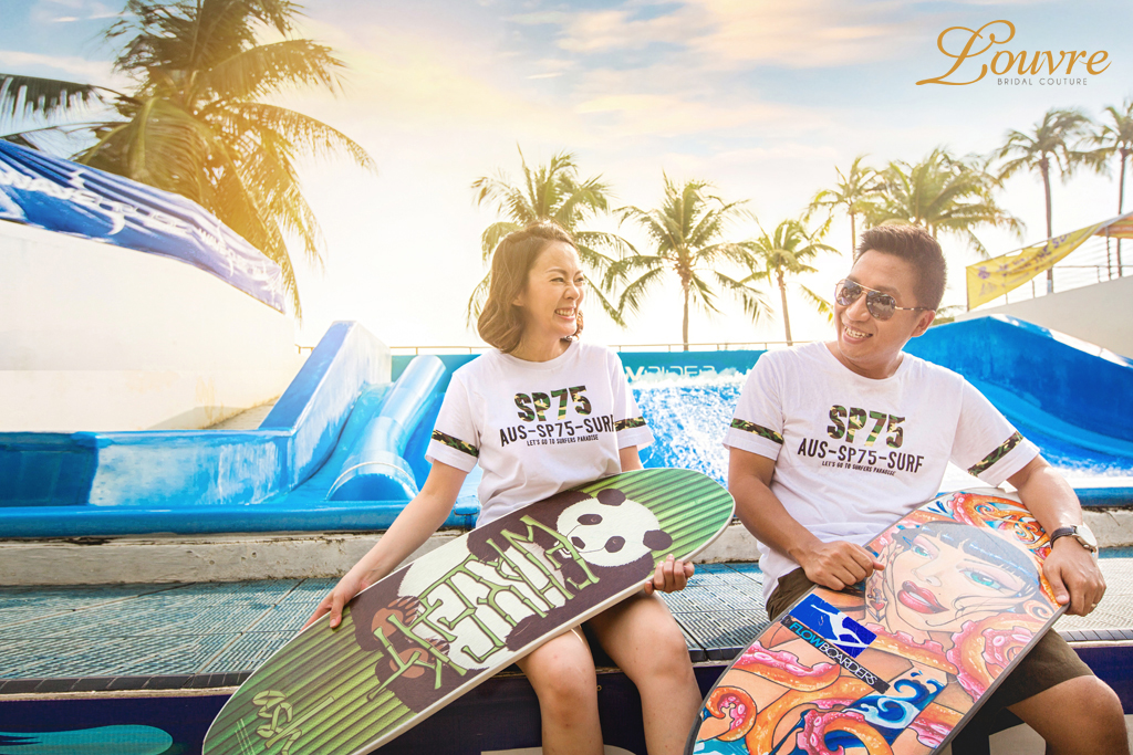 Wedding Theme – Surf's Up at Wavehouse Sentosa