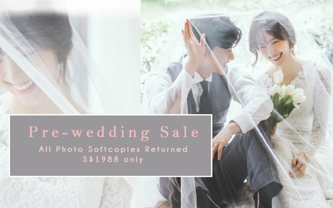 S$1988 PRE-WEDDING SALE