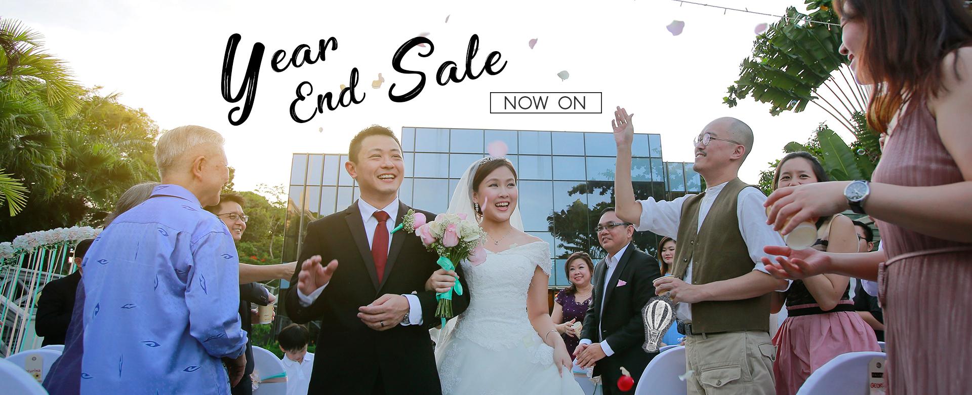 Year-end Bridal Sale