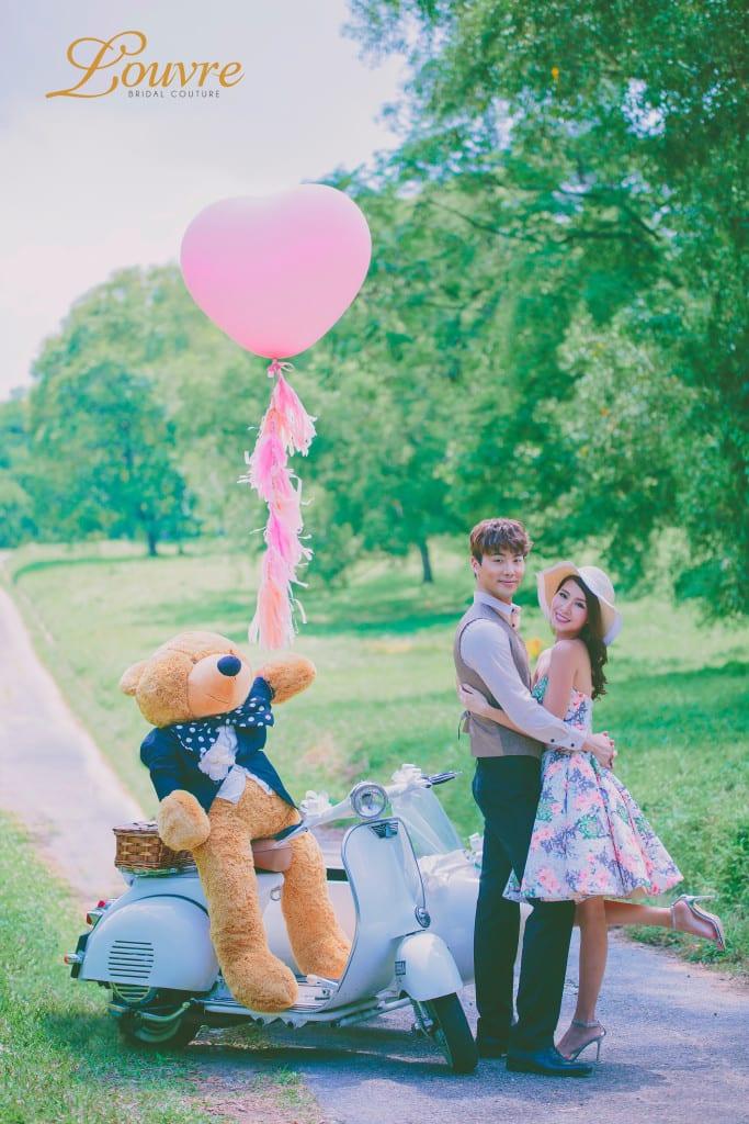 pre-wedding photo shoot Singapore
