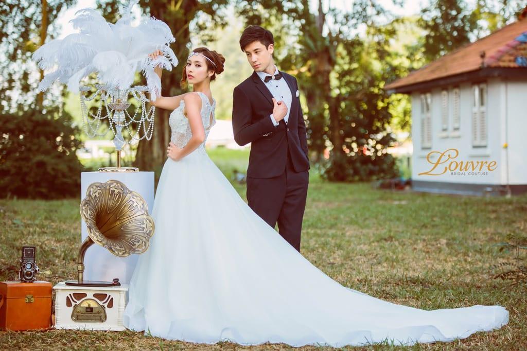 The Great Gatsby wedding dress