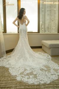 Korea wedding gown