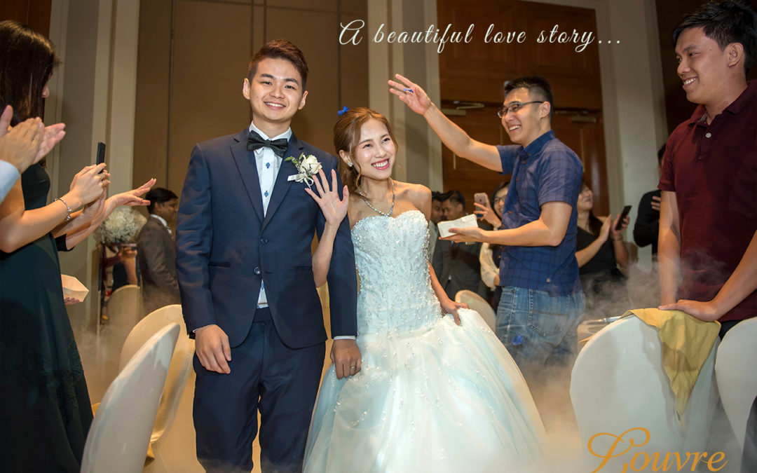 The Conrad Centennial Singapore – Actual Wedding of Andy & Pei Xian