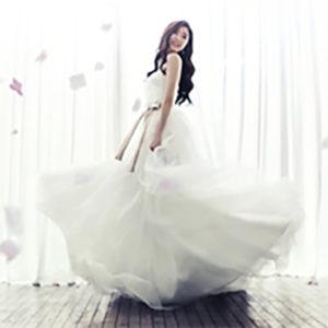 Korean designer wedding dress