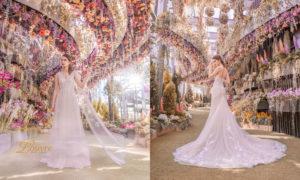 Korean wedding gown Singapore