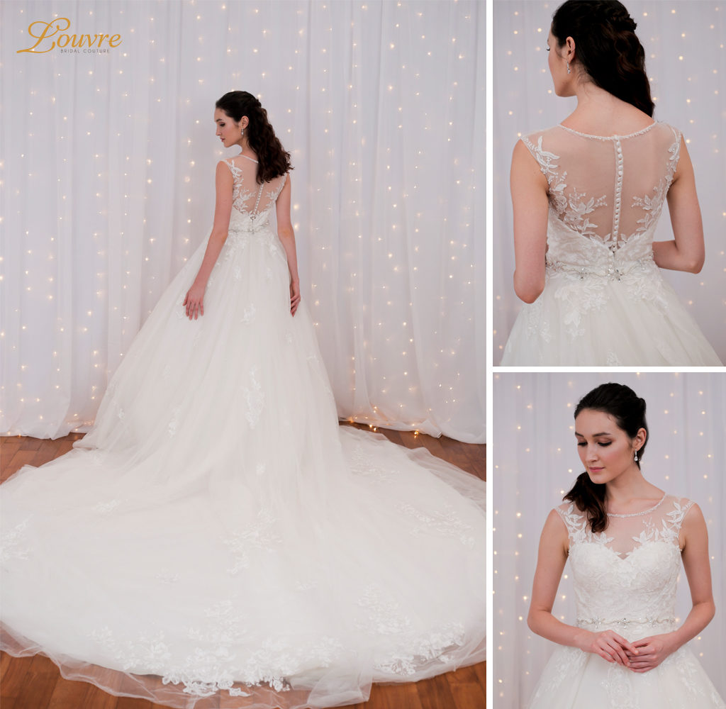wedding gown rental: top-rated wedding gown necklines for