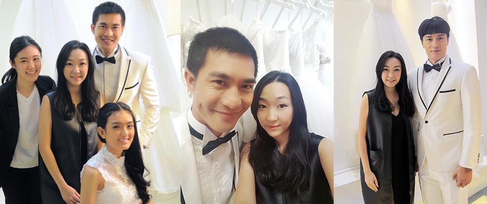 Pierre Png, Zhang Zheng Huan, Hong Ling