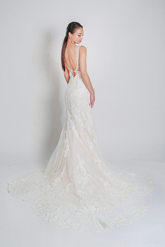 mermaid wedding gowns Singapore-- Louvre Bridal