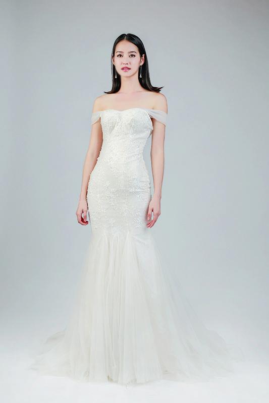 mermaid wedding gowns rental -- Louvre Bridal