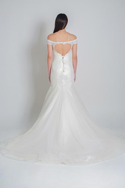 mermaid wedding dress -- Louvre Bridal
